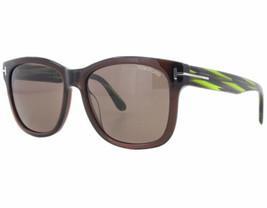 Tom Ford FT0395 48J 57MM Tf 395 Cooper Verde / Gafas de Sol Marrones - $138.59