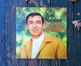 Jim Nabors: Kiss Me Goodbye Vinyl Record Album (1968, Columbia Records) ... - $2.30