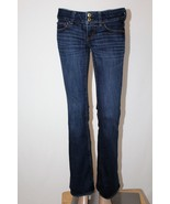 """AMERICAN EAGLE """"Artist"""" Women's Size 2 Flare Boot Cut Stretch Jeans 32"""" ... - $26.11"""