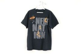 NERF Streetwear Mens Medium Nerfnation Spell Out Short Sleeve Graphic T ... - $24.70