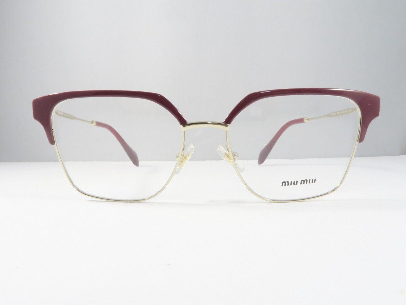 197e7d07f72a Miu Miu VMU 52O UE5-1O1 Shiny Burgundy Gold and 27 similar items