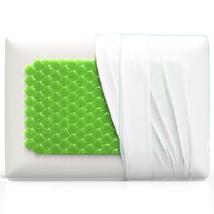 Equinox Cooling Gel Memory Foam Pillow - 24x16 ... - $39.25