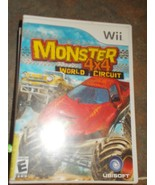 Wii Monster 4X4 World Circuit Game - $14.99