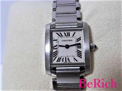 84d80082a40 CARTIER Tankfrancaise SM W51008Q3 White dial and 50 similar items