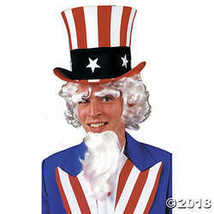 Uncle Sam Wig Goatee Eyebrow G Costume Accessor - $30.61