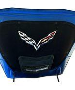 C7 Corvette Stingray Crossed flag Metal Under hood Emblem Fits: 2014 thr... - $72.90+