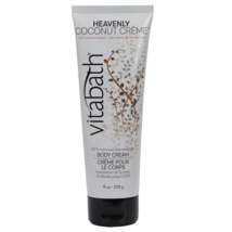 Vitabath Body Cream, Heavenly Coconut Creme, 8 Fluid Ounce  by Vitabath - $15.99