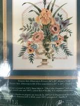 NEW Elsa Williams  Floral URN Bouquet Rare Vintage Crewel Kit  00467 - $113.85