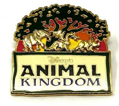 Disney - Animal Kingdom Raised Animals Under The Tree Of Life Trading Pi... - $11.84