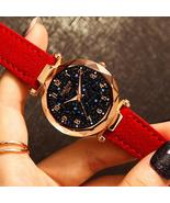Star Sky Dial Clock Luxury Rose Gold Women's Bracelet Quartz Wrist Watches - £12.46 GBP+