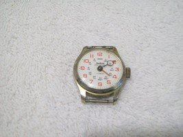 Vintage 1969 Sheffield Time Reader Watch Movement Swiss Made Teacher Watch - $15.00
