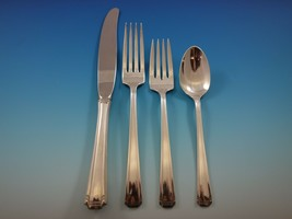 John and Priscilla by Westmorland Sterling Silver Flatware Set Service 202 Pcs - $10,900.00