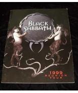 Black Sabbath 1999 Reunion Tour Program Ozzy Osbourne - $32.99