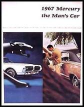 1967 Mercury Prestige Brochure COUGAR Cyclone Monterey HUGE - $16.81
