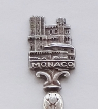 Collector Souvenir Spoon Monaco Prince's Palace St Mary's Tower Figural - $19.99