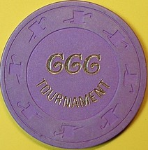 Casino Chip, California Commerce Club, Commerce, CA. Tournament Chip. O97. - $4.29