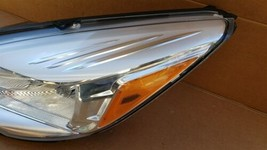 13-16 Ford Escape Halogen Headlight Head Light Lamp Driver Left LH image 2