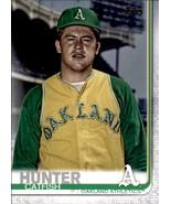 Catfish Hunter 2019 Topps Series 2 SP Photo Variation Card #565 - $8.00