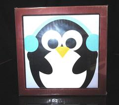 """3dRose CHRISTMAS PENGUIN Cute Whimsical Art Tile Pen Holder 5"""" Wooden - $38.54"""