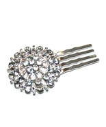 Prom Hair Accessories, Wedding Jewelry, Hair Comb, Pin with Rhinestones - $5.99