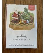 Merry Christmas Santa Mini 3D Pop-Up Christmas Card - $8.79
