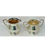 Vintage Sheffield Silver Co EPC 60X Silverplate Cream & Sugar Set (19-1130) - $16.10