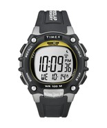 Timex Ironman Traditional 100-Lap - Black/Silver/Yellow Watch - $76.38