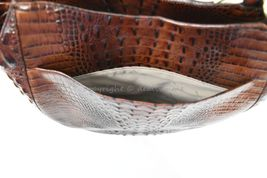 NWT Brahmin Thelma Tote / Shoulder Bag/Tote in Pecan Melbourne Embossed Leather image 6