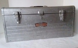 """CRAFTSMAN Early Model 6500 Toolbox Chest  20"""" x 9 1/2"""" x 8 1/2"""" - $31.67"""