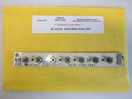 "Vizio 42"" VW42L HDTV10A Keypad Controller Board 3642-0042-0156 (0174-177... - $18.95"