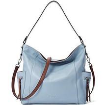 BOSTANTEN Genuine Leather Hobo Handbags Designer Shoulder Tote Purses Cr... - $68.99