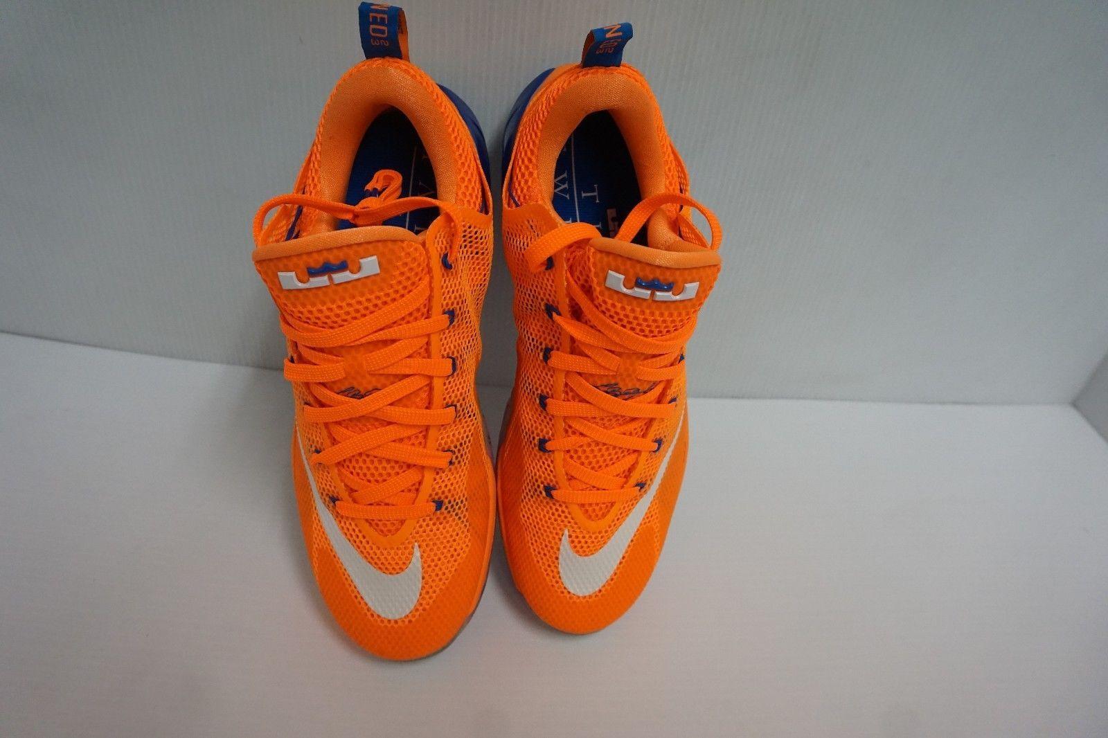 brand new 224db 39ecc Nike Lebron xii low basketball shoes bright citrus size 11.5 us