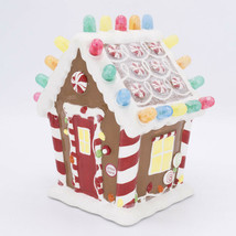 2008 Hallmark Gingerbread Gumdrop House WATCH VIDEO Musical Light Sound ... - $130.00
