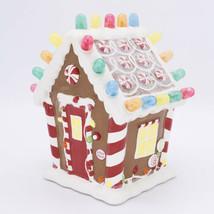 2008 Hallmark Gingerbread Gumdrop House WATCH VIDEO Musical Light Sound ... - $130.00