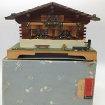Vintage Swiss CHALET MUSIC Trinket BOX Franz Carl Weber Reuge Musical Mo... - $23.28