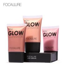 FOCALLURE® Gold Highlighter Makeup Liquid Glow Illuminator Face Brightener - $6.84+
