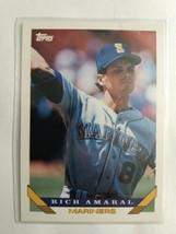 TOPPS 1993 CARD#431 RICH AMARAL - $0.99