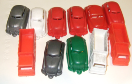 1950's Vintage Car Cake Toppers  (Lot of 19) - $3.95