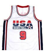 Michael Jordan #9 Team USA Basketball Jersey White Any Size - $29.99 - $34.99