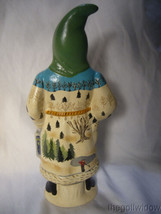 Vaillancourt Folk Art Think Spring Santa with Robin's Nest  Signed by Judi image 2