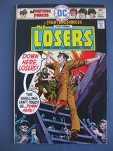 OUR FIGHTING FORCES FEATURING THE LOSERS #161 NOVEMBER 1975 DC COMICS - $5.45