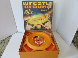 VTG 1969 IDEAL GAME WRESTLE AROUND COMPLETE IN BOX  #2345-7 - $27.39
