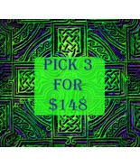 FRI-SUN PICK 3 FOR $148 DOES NOT INCLUDE NO DEALS & MYSTICAL TREASURES - $0.00
