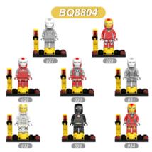 Custom Ironman Avenger (BQ8804) Lego Fit Minifigure Toys 8 Pcs - $14.00