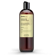 Neem Oil, 100% Pure Cold Pressed for Skincare and Hair care 4oz