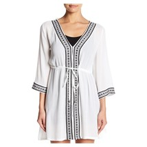 White Black Embroidered Dress, Size L 4155 Romeo & Juliet Couture - $44.94