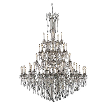 "AM9200: Lighting by Pecaso Crystal Candelabra Chandelier (74""-94"" H) $7,... - $7,890.00"