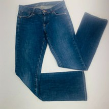 Old Navy Womens Jeans 1 Blue The Sweetheart Boot Cut Stretch Med Wash Wh... - $20.87