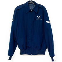 US Air Force Jacket 42XL Mans Wings Collection Lightweight Removable Liner DLA - $35.50