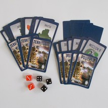 Risk Doctor Who Daleks Invasion Of Earth Cards Dice Replacement Parts - $12.86